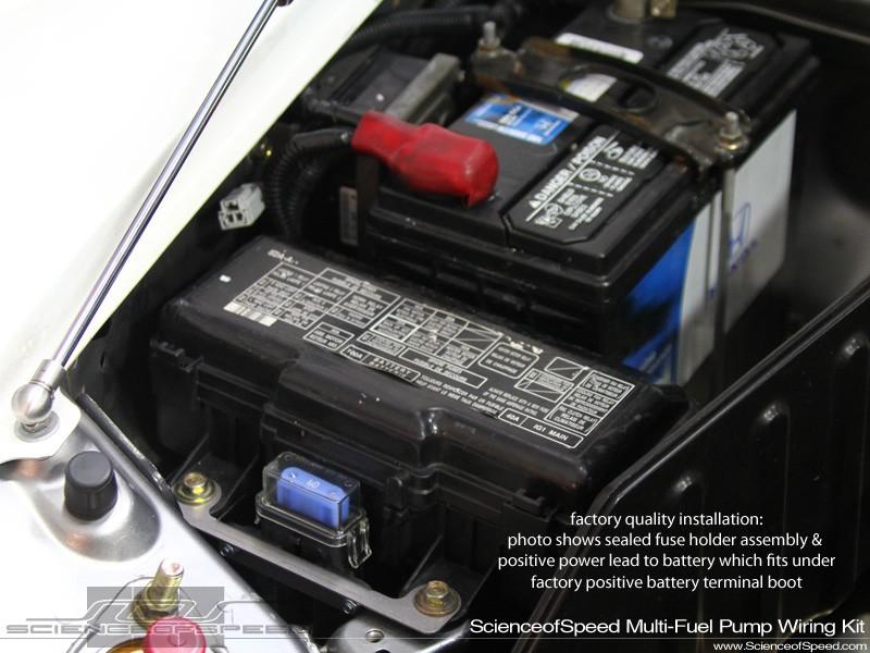 ScienceofSpeed Fuel Pump Complete Easy Wiring Kits - Engine ...