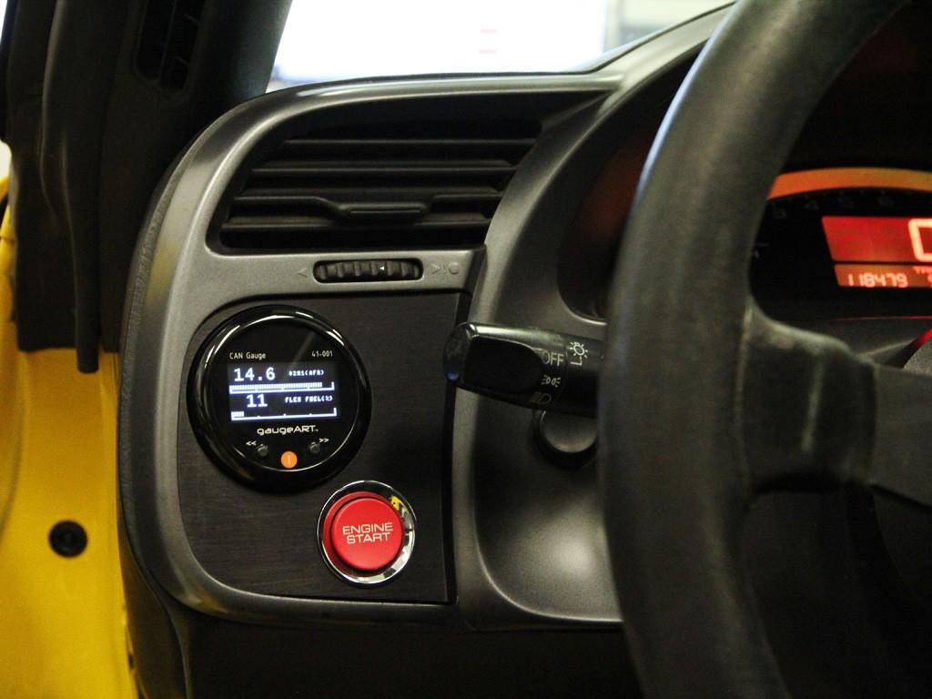 Auto Meter 20444 Single 52mm Gauge Pod 2000-2003 Honda S2000 S2K F20C1