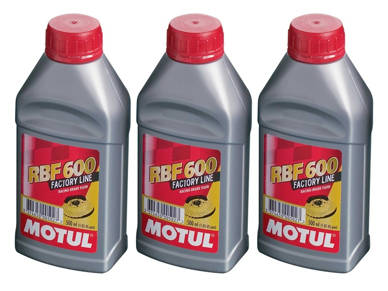 Motul RBF600 Synthetic Racing Brake Fluid, 500 ml