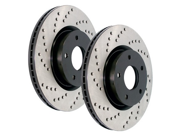 Power Slot Drilled Brake Rotors
