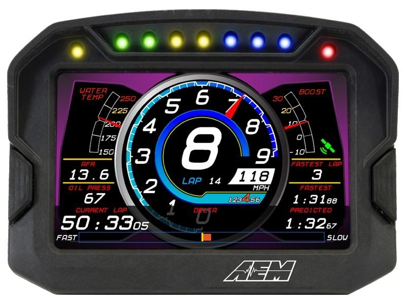 AEM CD-5 & CD-7 Race Dash