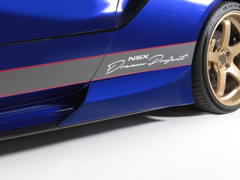 ScienceofSpeed Side Strakes & Optional Side Sill Garnish Ducts - NSX, 2017-on