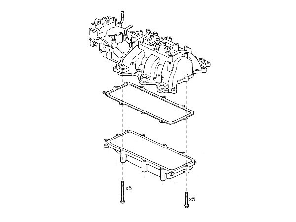 ScienceofSpeed Intake Manifold VVIS Delete Kit - NSX, 1991-05