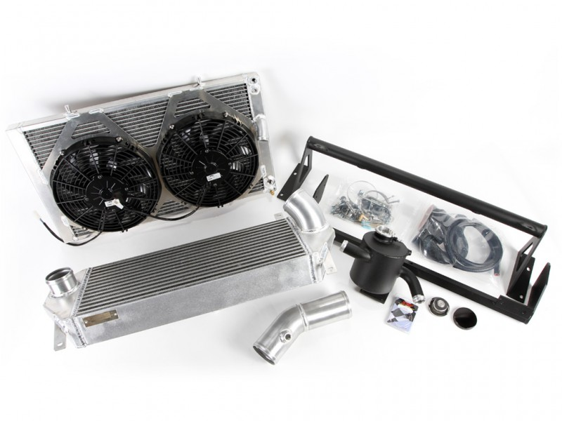 ScienceofSpeed TS-MAX V-Mount Twin Pass Radiator & Intercooler