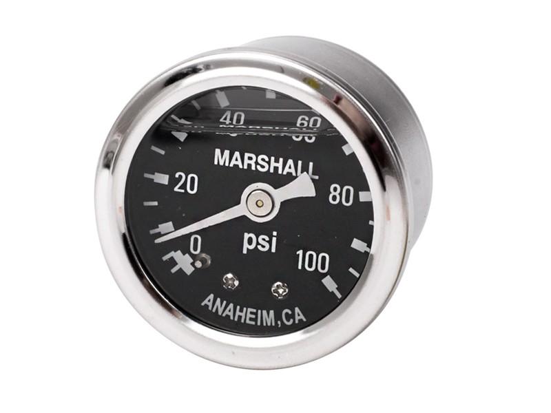 fuel pressure gauge (0-100 PSI)