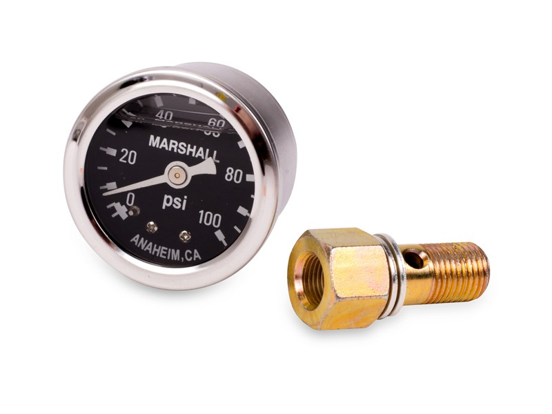 ScienceofSpeed Fuel Pressure Gauge Kit - 100 PSI - NSX, 1991-05