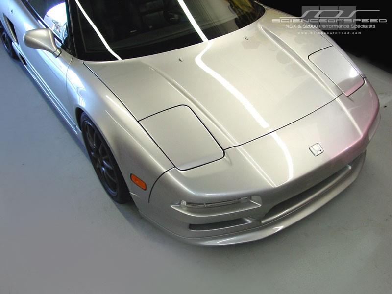 Shine Type-1 Front Spoiler - NSX, 1991-01