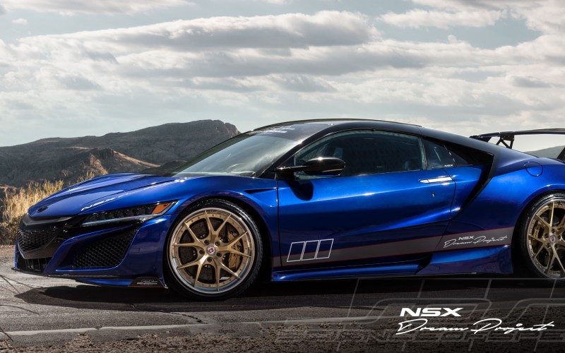 HRE Forged Wheels - NSX, 2017-on