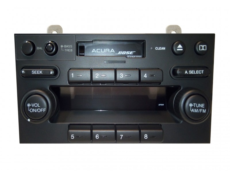 stereo knobs & buttons - NSX, 1991-01