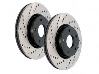 Centric SportStop Cross Drilled Brake Rotors