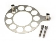 Cedar Ridge Fabrication Crankshaft Damper Pulley Shield (lightweight version) - NSX, 1991-05