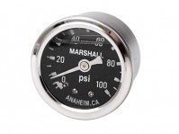 fuel pressure gauge (0-100 PSI)