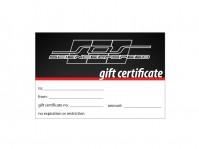 ScienceofSpeed Gift Certificate