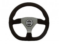 Sparco Ring 330mm Steering Wheel (specify leather or black suede)