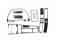 Carbon Fiber Interior Overlay Trim Kit