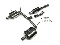 T1R 70mm Sparrow Exhaust (stainless steel w/ gradient tips) - S2000, 2000-09