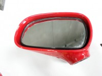 Red, driver mirror, no base