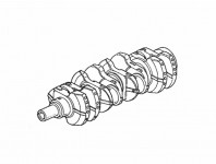Genuine Honda Crankshaft, F22C