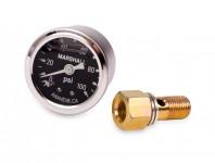 ScienceofSpeed Fuel Pressure Gauge Kit - 100 PSI - NSX, 1991-05