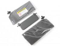 factory Honda sunvisors, coupe grey