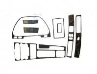 Carbon Fiber Interior Overlay Trim Kit