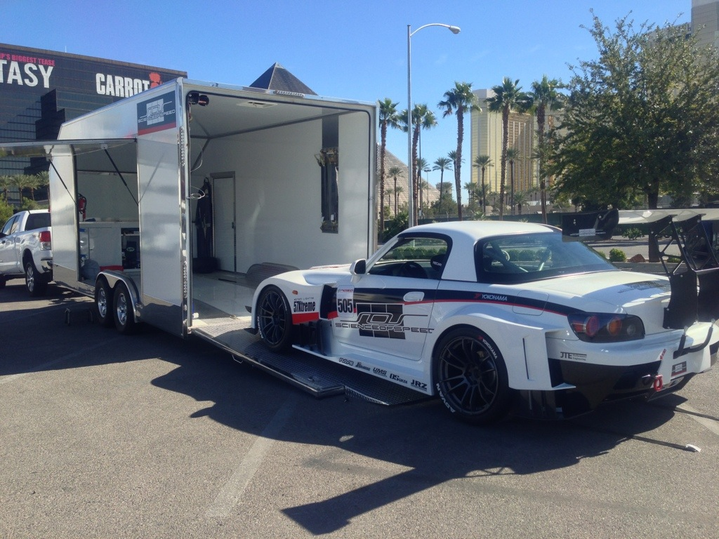 ScienceofSpeed delivers Unlimited S2000 to SEMA