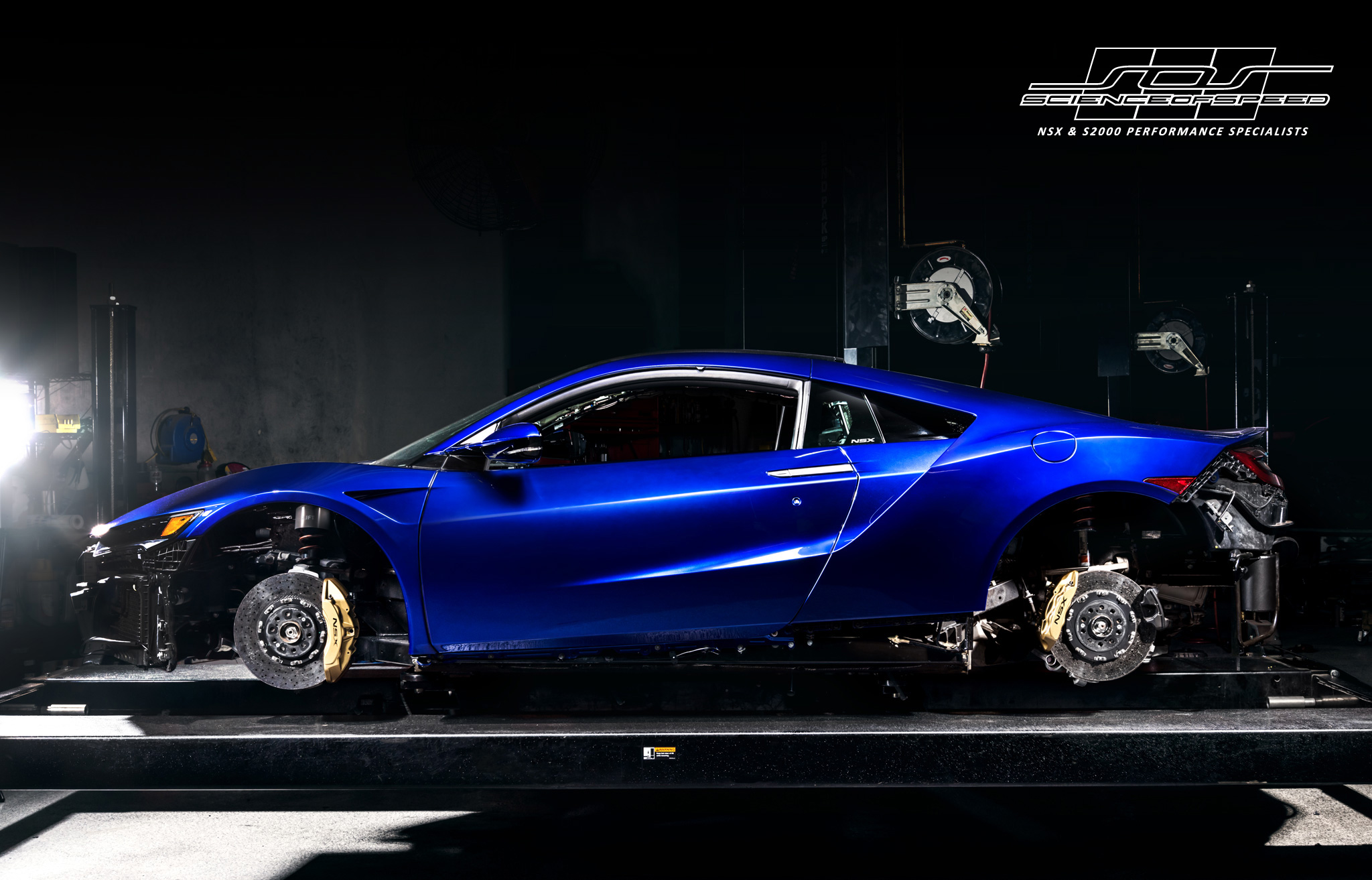 "ScienceofSpeed Announces the SEMA ""NSX Dream Project"""