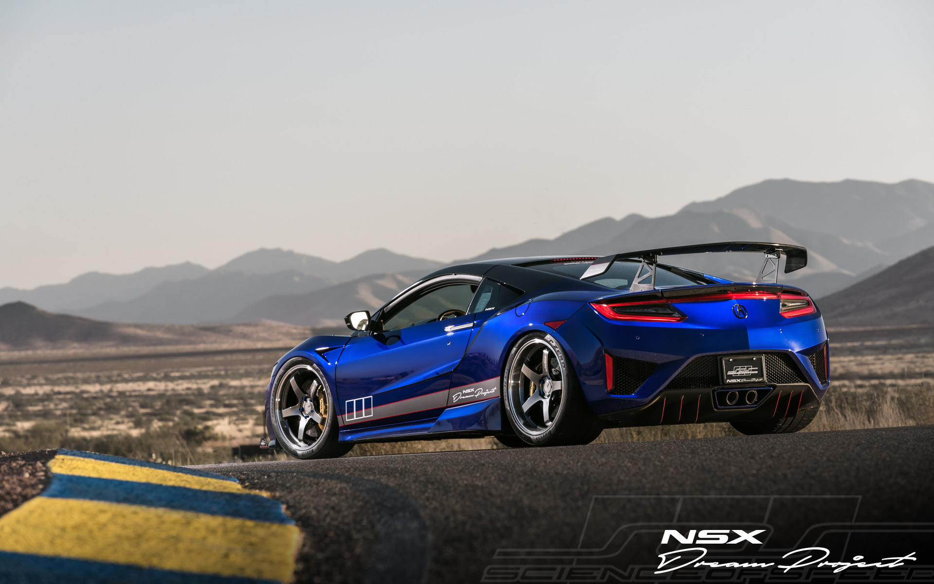 ScienceofSpeed NSX Dream Project Debuts at 2017 SEMA Show