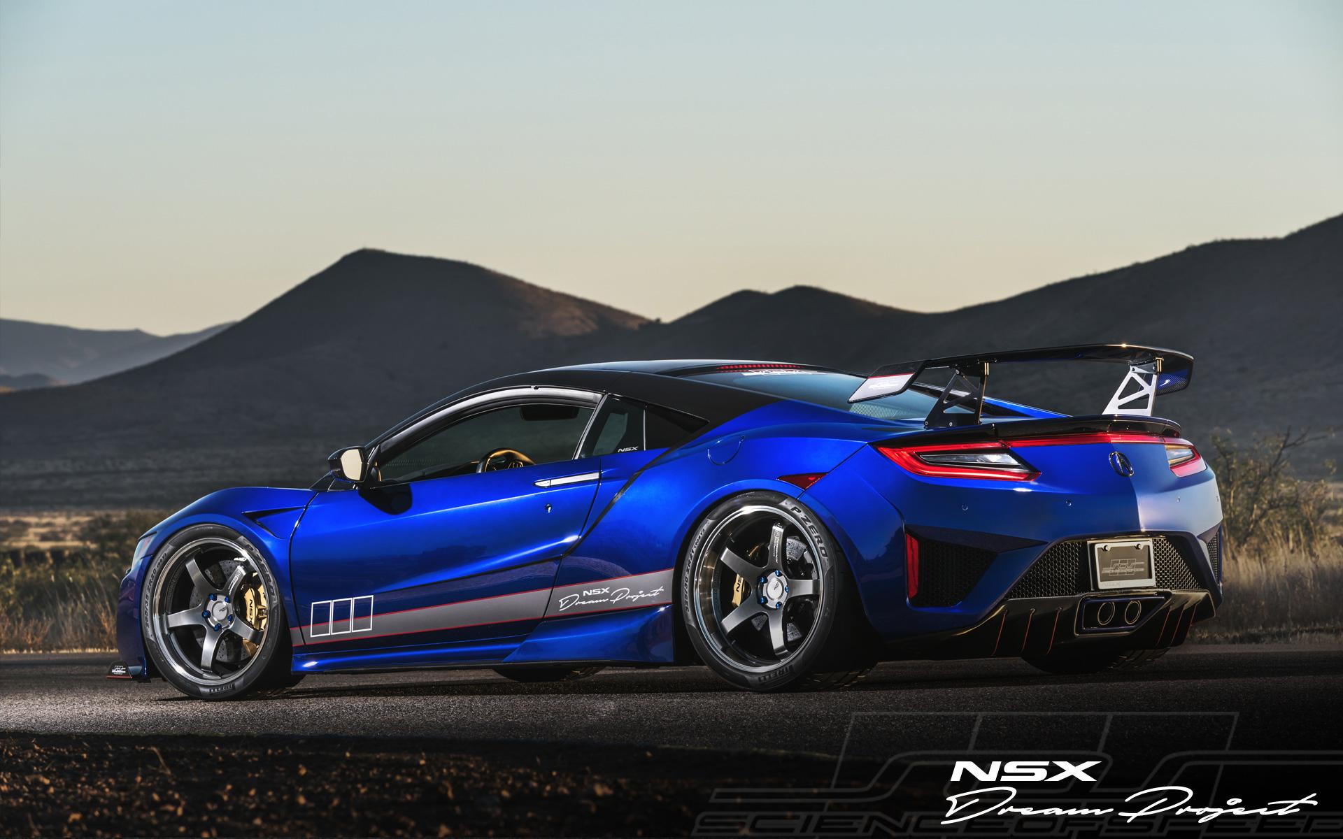 ScienceofSpeed Introduces Advan GT Premium For Second Generation NSX