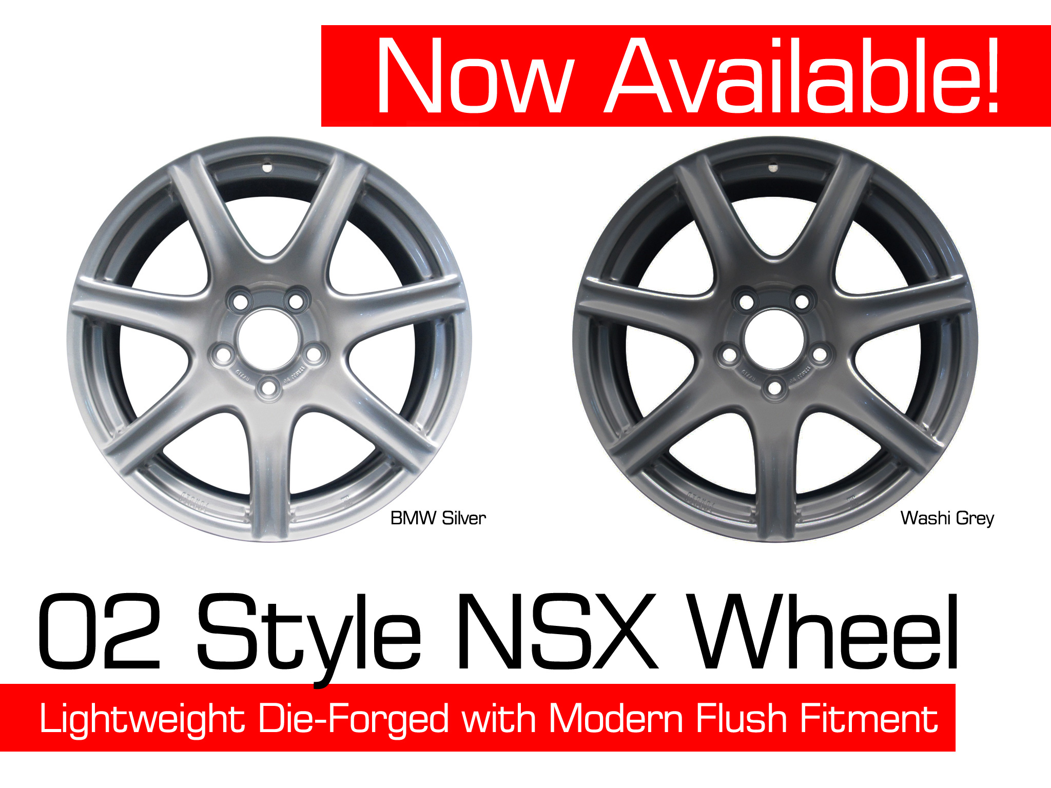 ScienceofSpeed Announces 2002-05 Style Forged NSX wheels