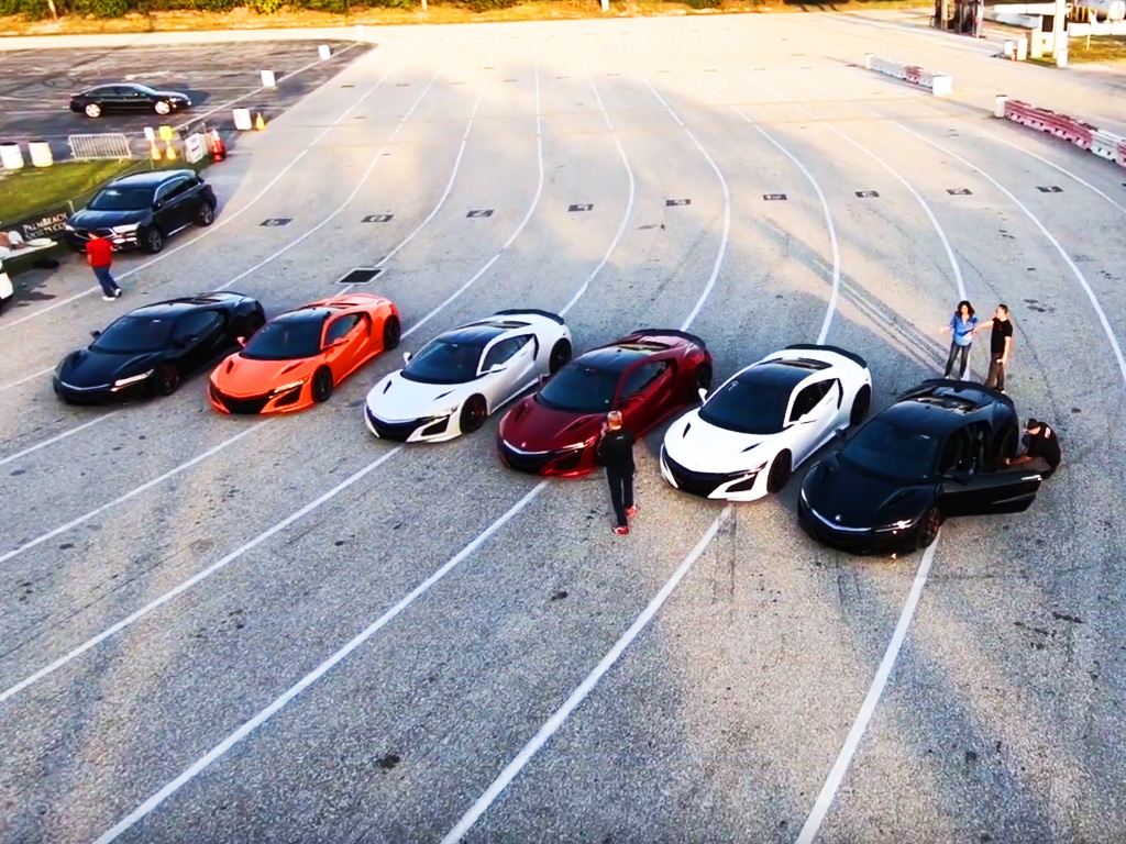 NSX Meet Up at the Drags: Second Gen NSX Event Sponsored by ScienceofSpeed (full video)