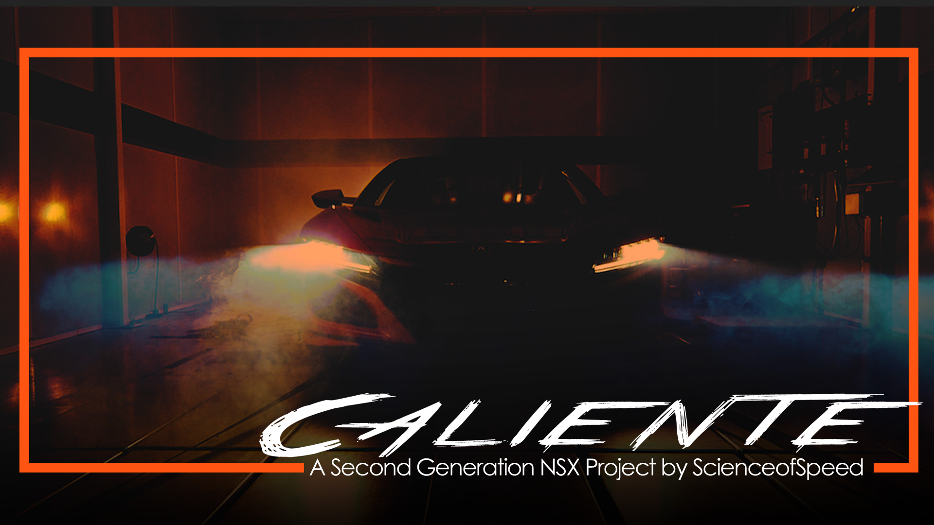 """""""Caliente"""" - a 2020 Acura NSX powered by ScienceofSpeed"""