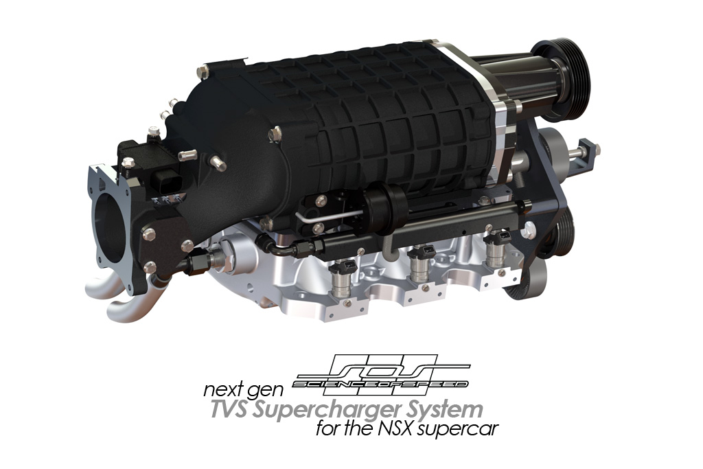 ScienceofSpeed TVS Supercharger System for the First Generation NSX